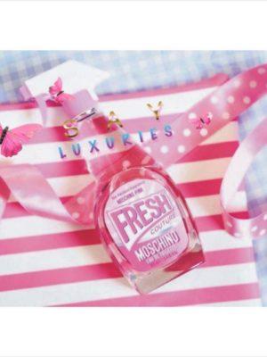 夢幻義大利奢侈品牌Moschino PINK FRESH粉紅清新女性禮盒