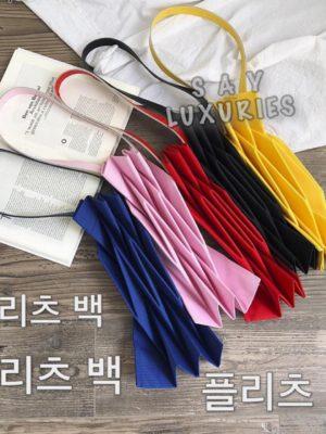 韓國🇰🇷斯文OL文青斯文百摺袋
