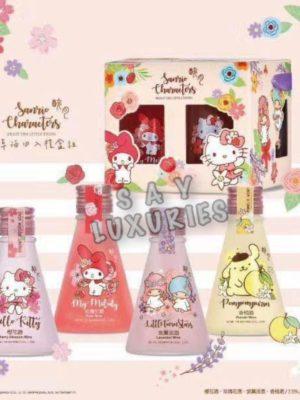 【醉月 x Sanrio】花草酒四入禮盒組🍹